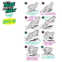 How to THINK when you draw POUNCING QUICK TIP!