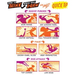 How to THINK when you draw PUNCH-UPS QUICK TIP!