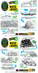 How to THINK when you draw WATER and WAVES!