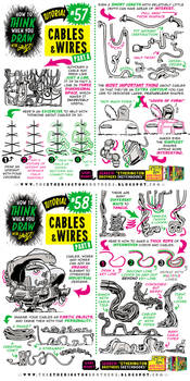 How to THINK when you draw CABLES and WIRES!