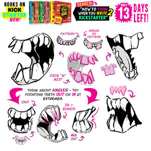 MONSTER TEETH! Tutorials BOOKS SELL OUT in 13 DAYS