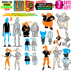 BODY SHAPES! ONE WEEK LEFT to get the BOOKS!