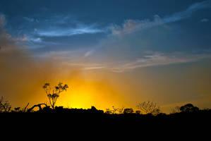 Burning Sunset by SkylightPhtgrphy