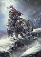 Battlelust Charger by IvanSevic