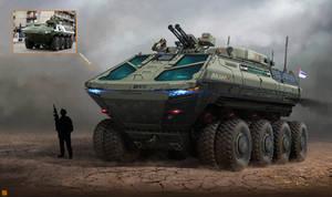 Lazar 5 Armored Vehicle