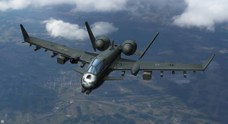 A-10X Punisher by IvanSevic