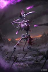 Skeleton Warrior by IvanSevic