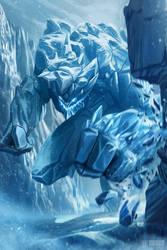 Ice Golem by IvanSevic