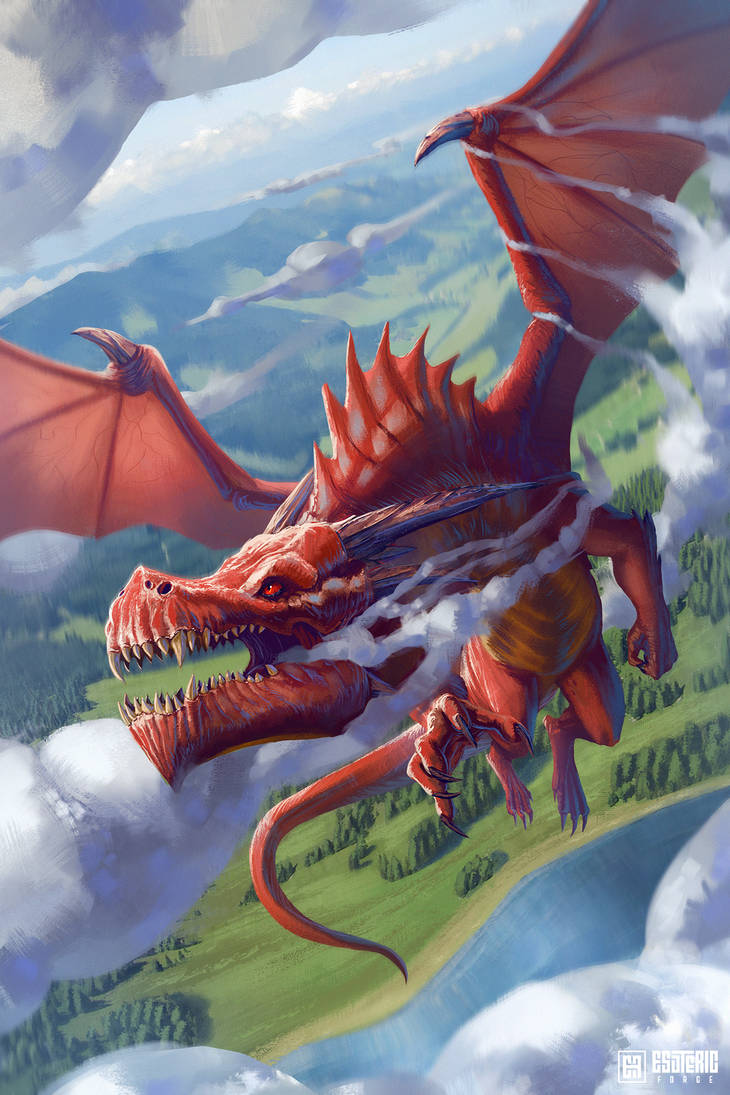 Red Dragon by IvanSevic