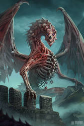 Nekromancer Dragon by IvanSevic