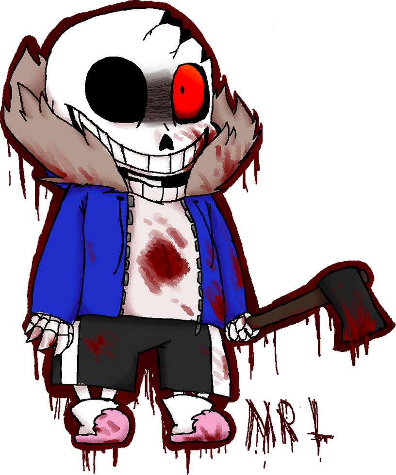 Horrortale sans by CaPrIcOrNbReAd on DeviantArt
