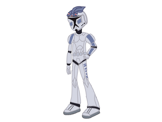 Fives from Star wars the clone wars Vector in EQG by Ripped-ntripps