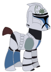 Jesse from Star Wars the Clone Wars in MLP by Ripped-ntripps