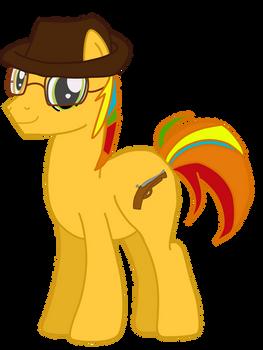 Linkara as Earth Ponies