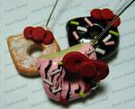 Hello Kitty Donut Charms