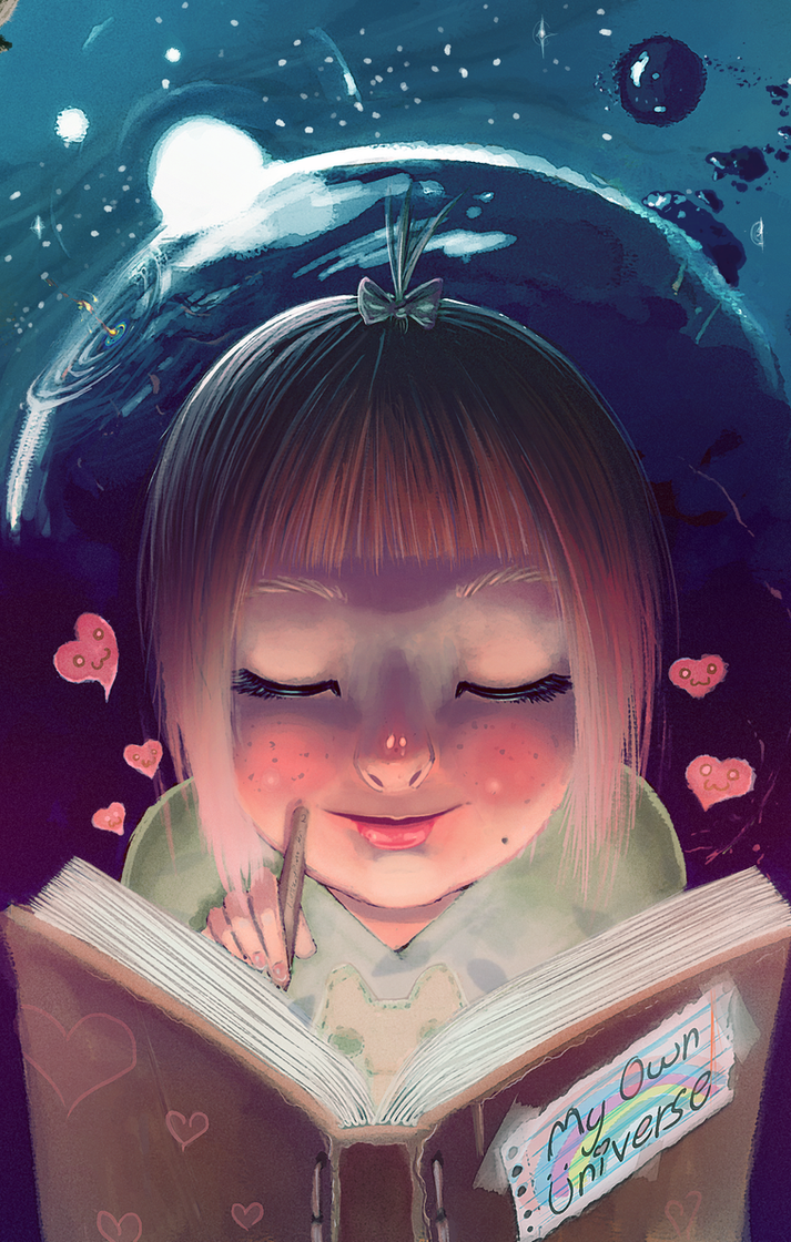 Inner Universe by Nate-da