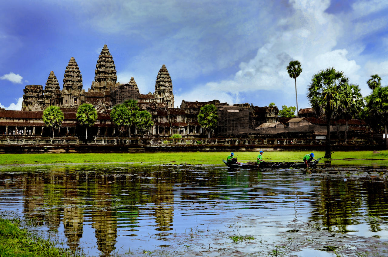 Angkor Wat - 1 by DawnRoseCreation