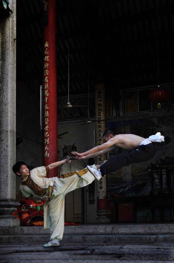 Young Generation Wushu -1 by DawnRoseCreation