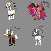 CLOSED Song Adoptables by FoxFireKiki