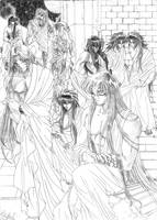 Harem Saint Seiya by MistressAinley