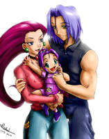 Rocket Family by MistressAinley