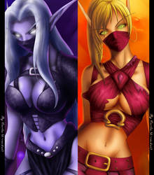 The 2 sides Rogues by MistressAinley