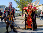 WoW Cosplay - Blood elves 2