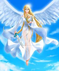 Goddess Hylia by MistressAinley