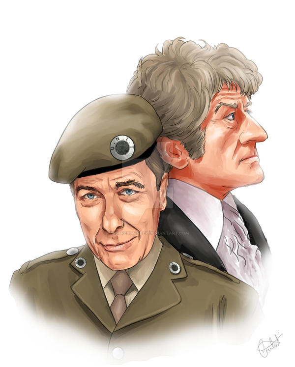 Sgt Benton and The 3rd Doctor by MistressAinley