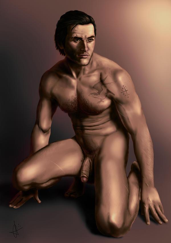 Jacob Nude by MistressAinley