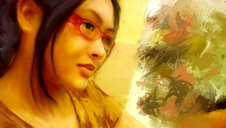 rhae on painter