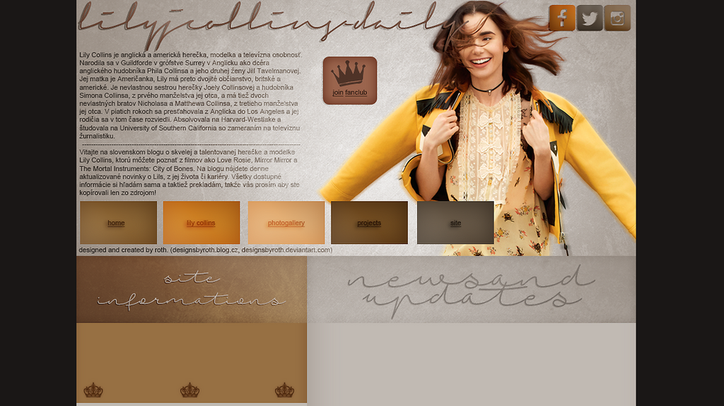 ordered design (lilyjcollins-daily.blog.cz) by designsbyroth