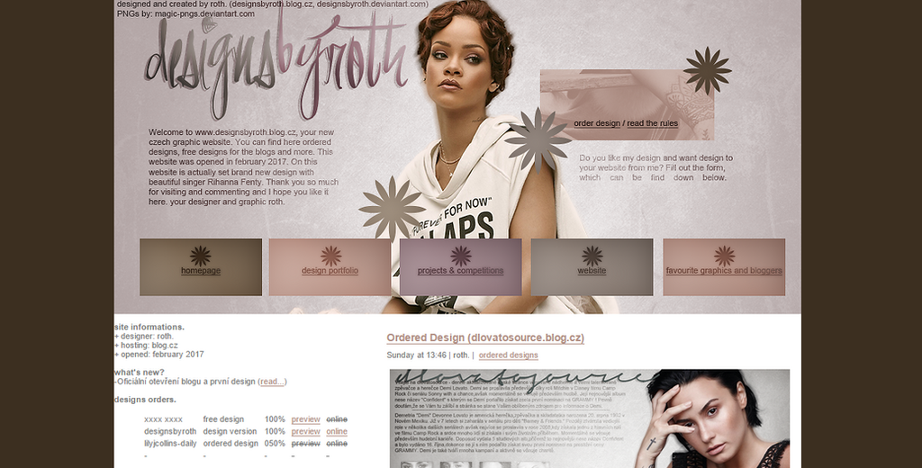 #2 design version ft. RIHANNA FENTY by designsbyroth