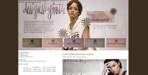 #2 design version ft. RIHANNA FENTY by designsbyroth