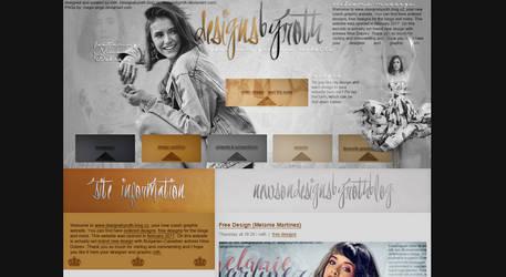 #3 design version ft. NINA DOBREV by designsbyroth