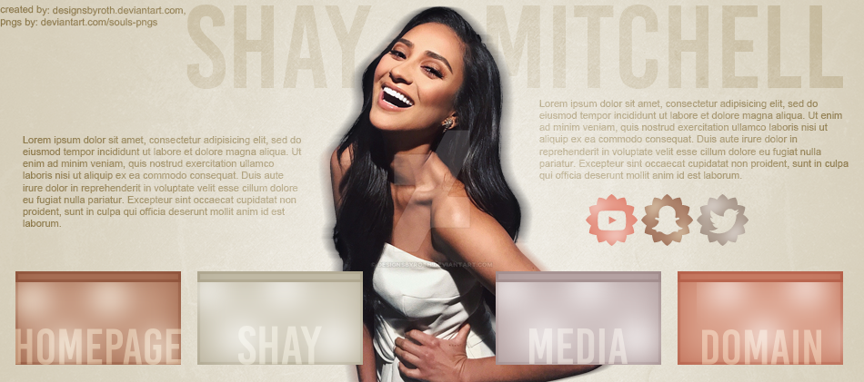 FREE HEADER ft. Shay Mitchell by designsbyroth