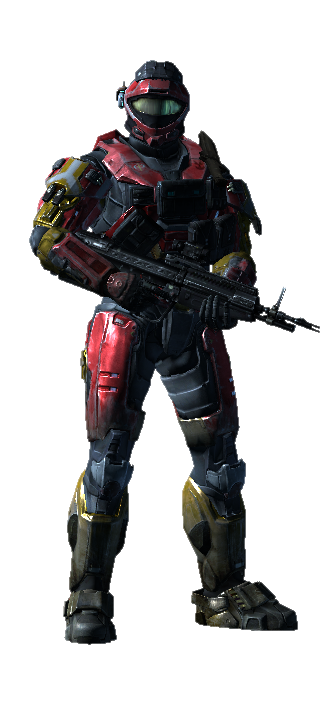 My Halo Reach Armor by ANDREW115342
