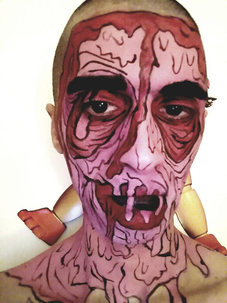 Zombie pop art  by ipainturface