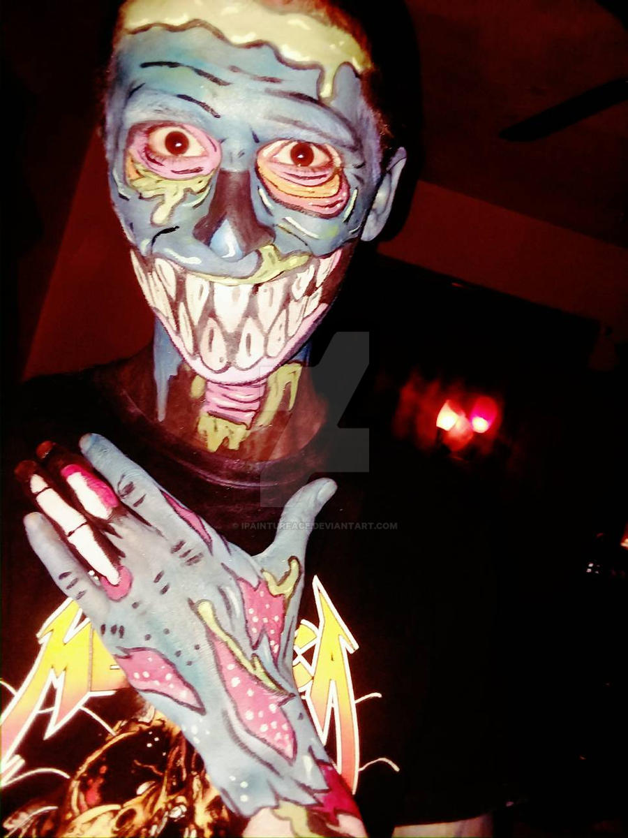 #zombiepopart by ipainturface