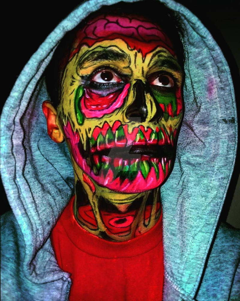 #selfies #Zombiepopart #emotionalabuse #instagrame by ipainturface