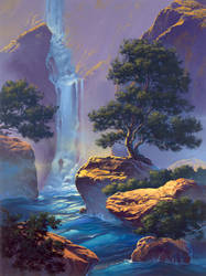 secret cascade by David-McCamant