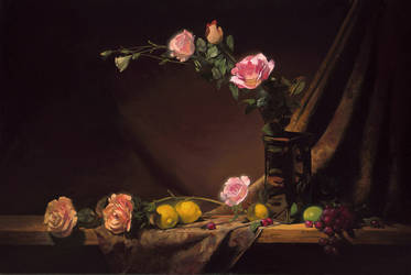 lemons and roses by David-McCamant