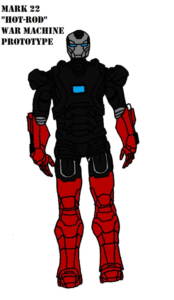 Iron Man Mark 22 Hot Rod by bthacker501 on deviantART