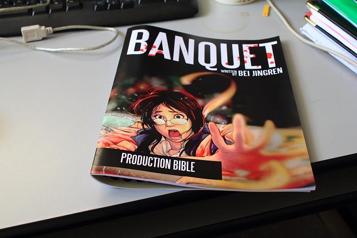 Banquet Pre-Production Cover