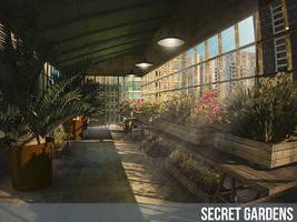 downtown secret garden by polperdelmar