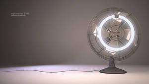 fluorescent fan by polperdelmar
