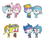 Request: New Sea Princes and Sea Princesses by TheLadyOfTheChibis