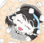 It's raining marshmallows