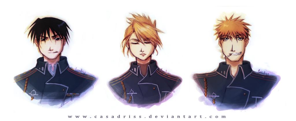 Fullmetal Alchemist: Military [1] by Casadriss