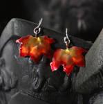 Autumn Maple Leaf Earrings